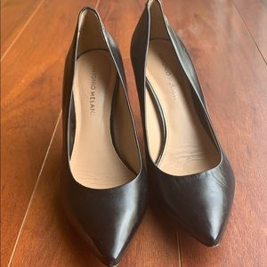 Antonio Melani Stiletto Black Heels Women Size 8.5